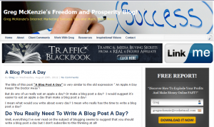 Should You Write A Blog Post A Day