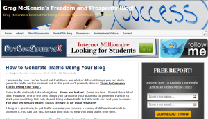 Find Out How to Generate Traffic Using Your Blog