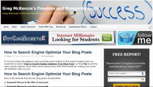 Learn How to Search Engine Optimize Your Blog Posts